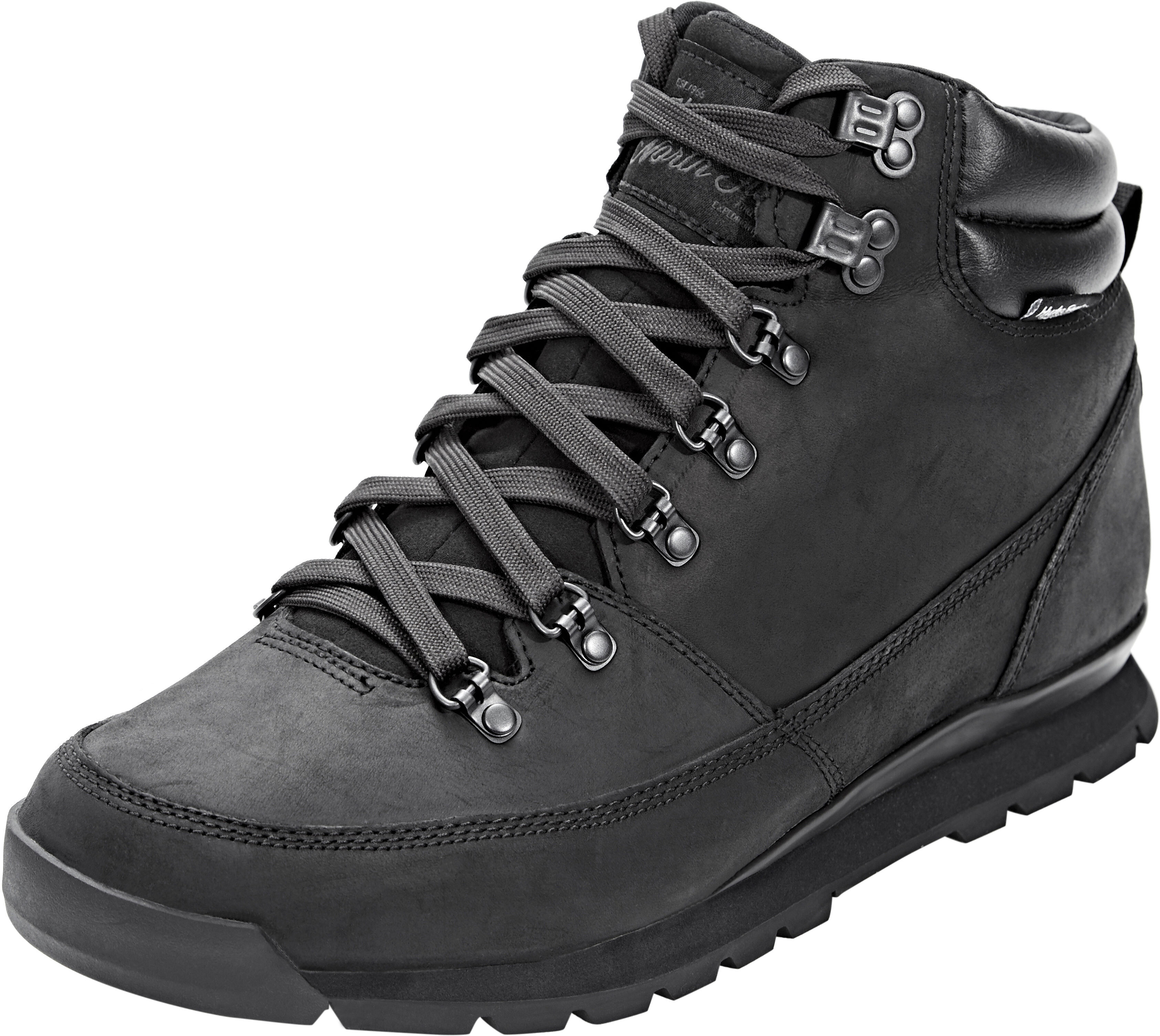 4091340aa The North Face Back-To-Berkeley Redux Leather Shoes Men tnf black